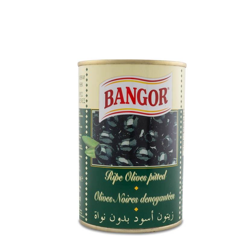 Aceitunas Negras Deshuesadas lata 1/2 kg
