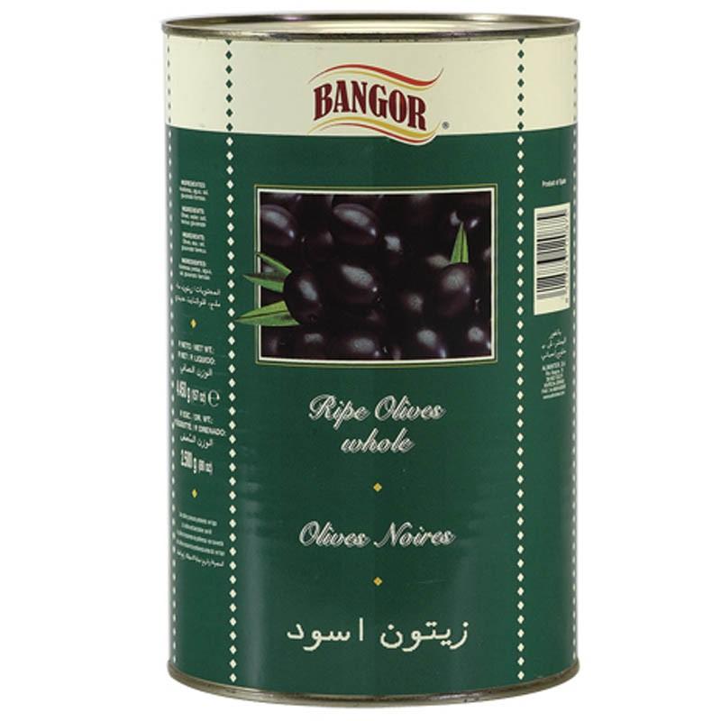 Aceitunas Negras Enteras lata 5 kg