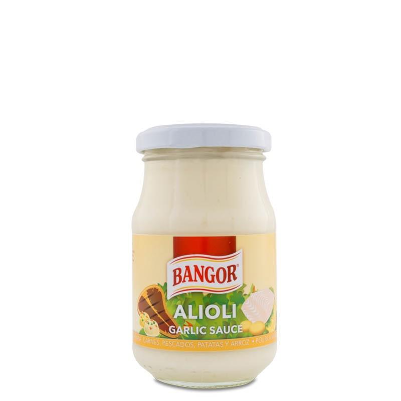 Alioli tarro cristal 225 ml