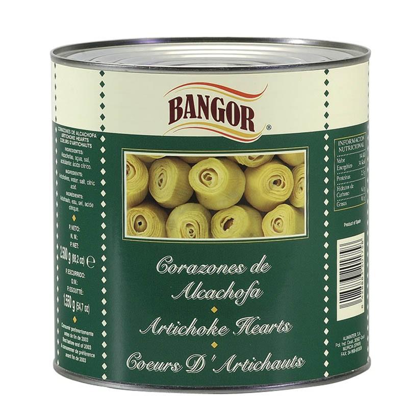 Corazones de Alcachofa lata 3 kg