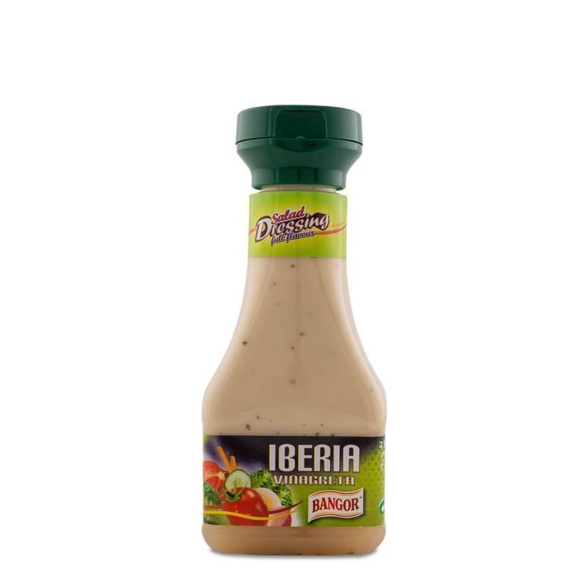 Aliño Vinagreta Iberia PET 250 ml