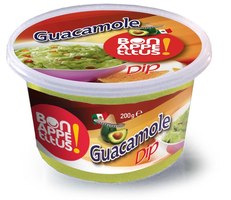 Guacamole tarrina 200 g
