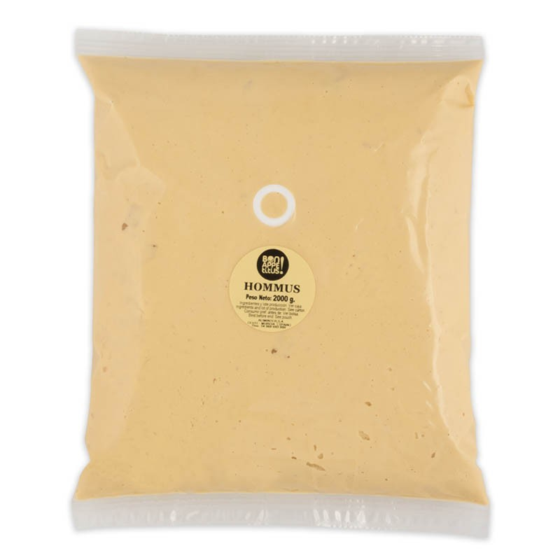 Hummus pouch/bolsa 2 kg