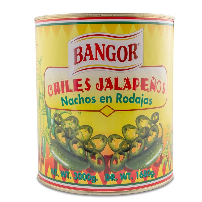 Jalapeño Verde en Rodajas lata A-10