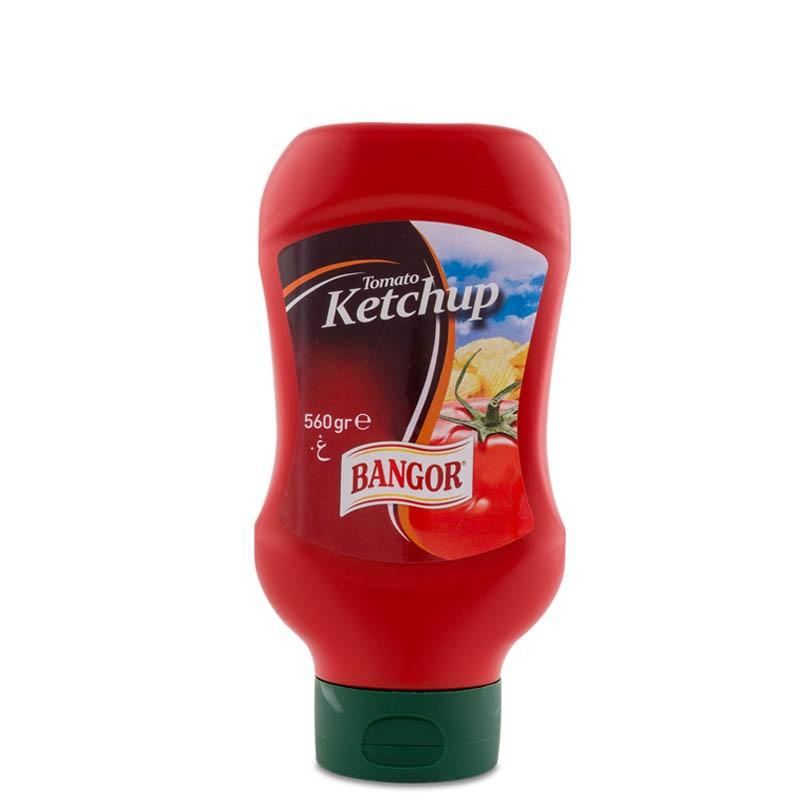 Ketchup botella bocabajo 560 g
