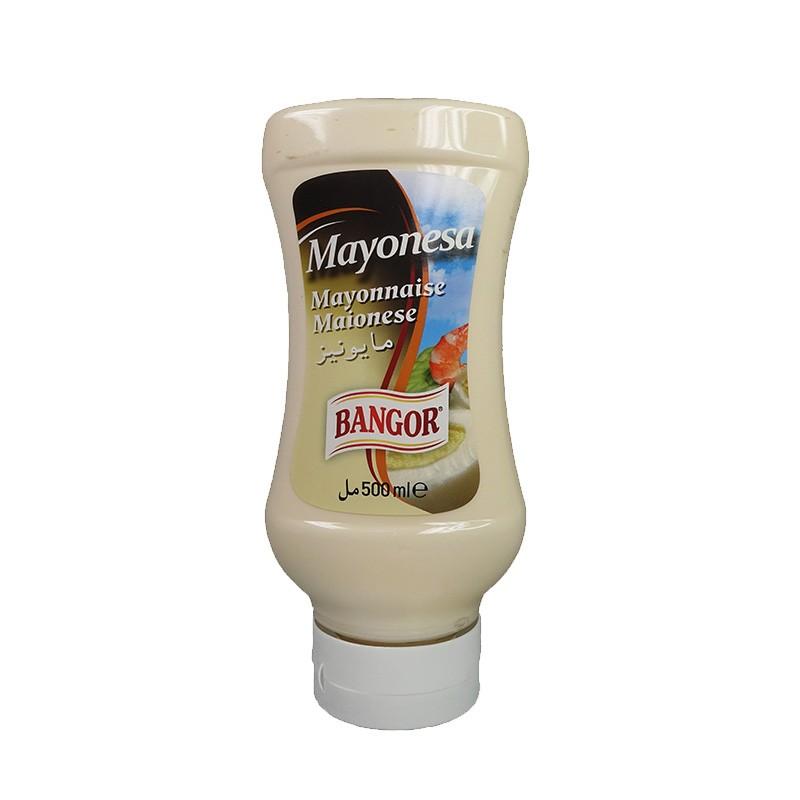 Mayonesa botella bocabajo 500 ml