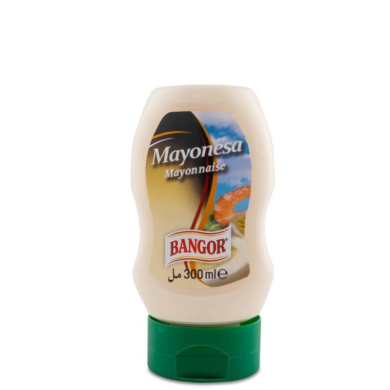 Mayonesa bot. hércules bocabajo 300 ml