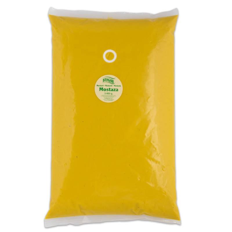 Mostaza Americana pouch/bolsa 3.400 ml
