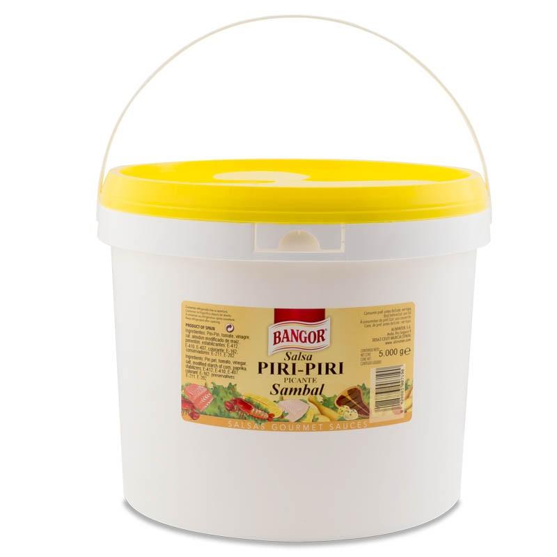 Salsa Piri-Piri Sambal cubo 5 kg