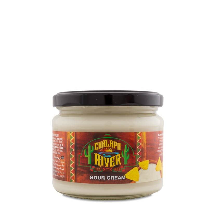 Sour Cream Dip tarro cristal 290 g