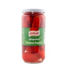 Jalapeño Rojo Entero tarro cristal V-720