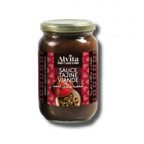 Salsa Tajin Viande (Salsa de sultanas y cebolla para tajin de carne) - tarro A370ml