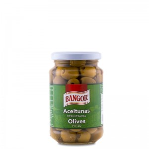 Aceitunas Verdes Deshuesadas tarro 370