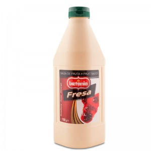 Salsa de Fresa botella 1.100 g