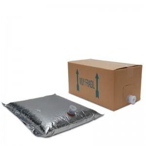 Zumo Concentrado Manzana 1/9 bag in box 10 L