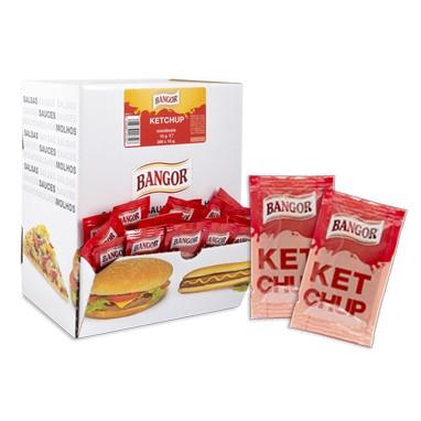 Une large gamme des sauces et des vinaigrettes en portions individuelles.