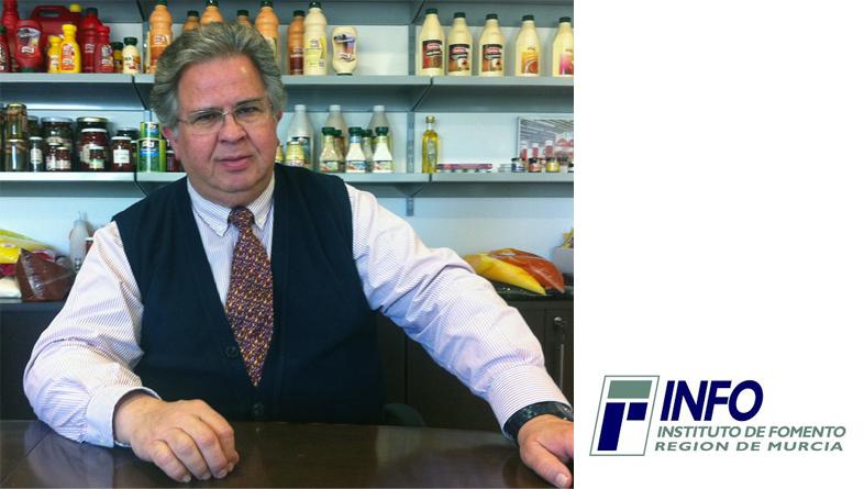 L' Institut de Développement, INFO, entrevoit à Manuel Peregrín, directeur général d'Aliminter S.A.