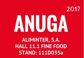 Aliminter estará presente en Anuga 2017, donde presentará sus diferentes productos y formatos.